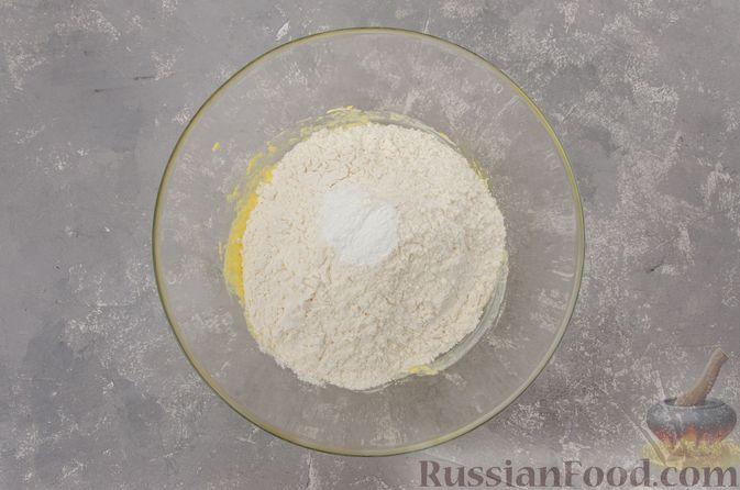 Фото приготовления рецепта: Банановый пирог-перевёртыш (Тарт Татен) - шаг №5
