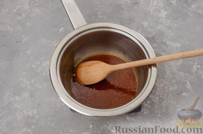 Фото приготовления рецепта: Банановый пирог-перевёртыш (Тарт Татен) - шаг №8