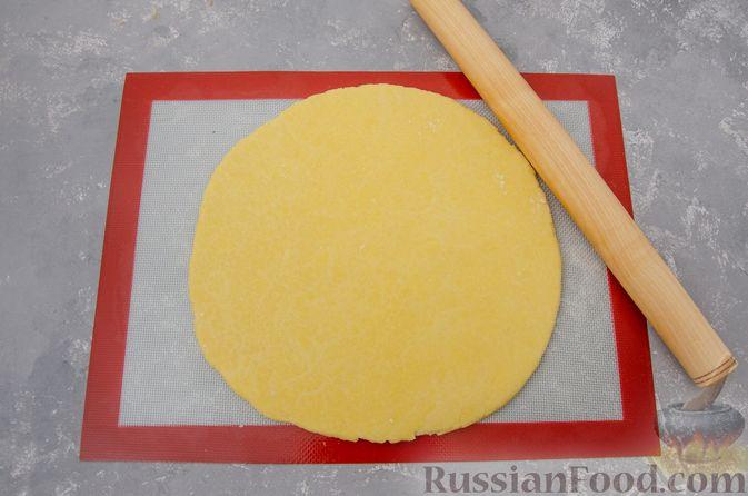 Фото приготовления рецепта: Банановый пирог-перевёртыш (Тарт Татен) - шаг №11