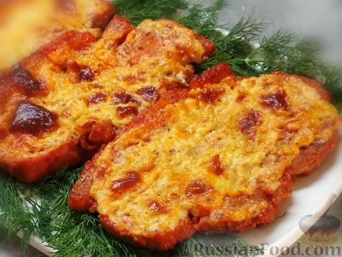 Фото к рецепту: Мясо, запечённое в духовке