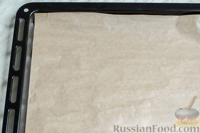 Фото приготовления рецепта: Песочное печенье с орехами - шаг №11
