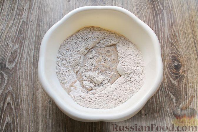 Фото приготовления рецепта: Булочки из цельнозерновой муки - шаг №7