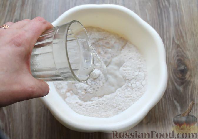 Фото приготовления рецепта: Булочки из цельнозерновой муки - шаг №8