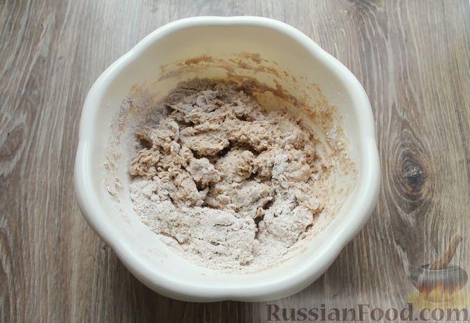 Фото приготовления рецепта: Булочки из цельнозерновой муки - шаг №9
