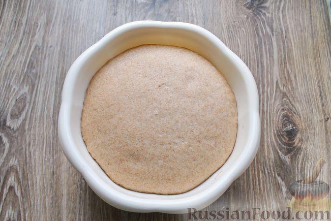Фото приготовления рецепта: Булочки из цельнозерновой муки - шаг №12