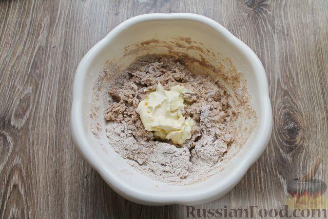 Фото приготовления рецепта: Булочки из цельнозерновой муки - шаг №10