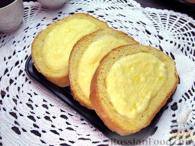 Фото к рецепту: Ленивые ватрушки в хлебе