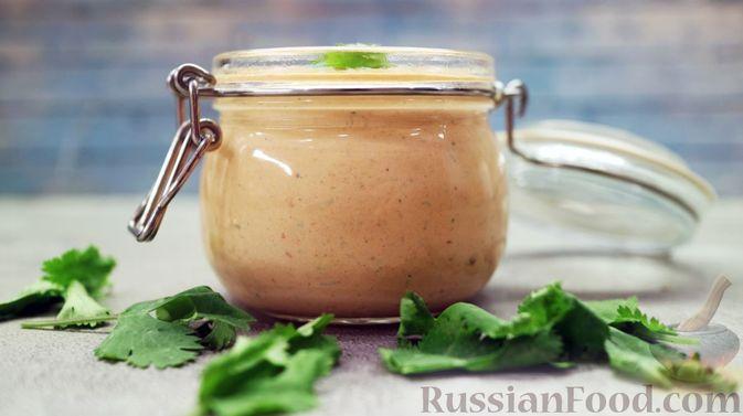Фото к рецепту: Соус для шаурмы по-турецки