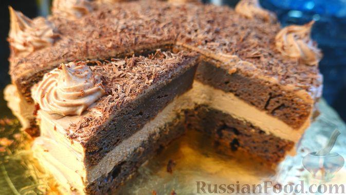 Фото к рецепту: Шоколадный торт