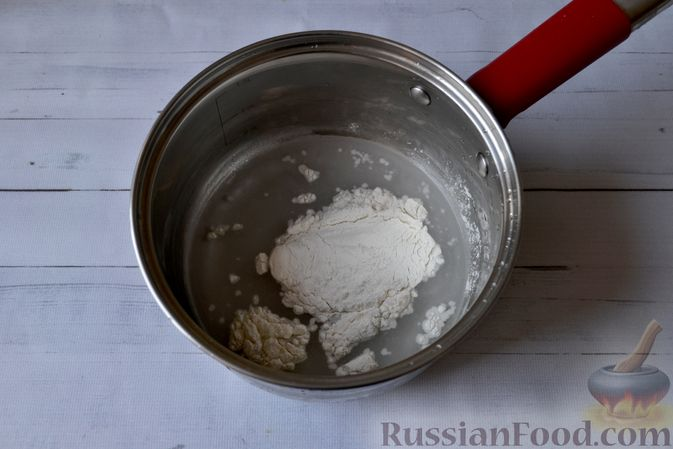 Фото приготовления рецепта: Сдобные булочки на мучной заварке, с вареньем - шаг №2