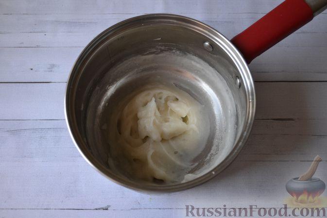 Фото приготовления рецепта: Сдобные булочки на мучной заварке, с вареньем - шаг №4