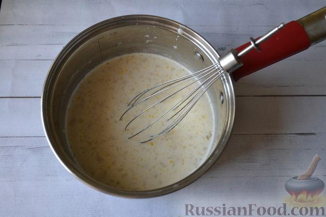 Фото приготовления рецепта: Сдобные булочки на мучной заварке, с вареньем - шаг №12