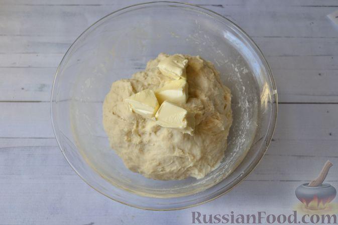 Фото приготовления рецепта: Сдобные булочки на мучной заварке, с вареньем - шаг №17