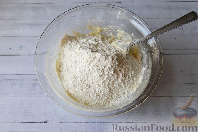 Фото приготовления рецепта: Сдобные булочки на мучной заварке, с вареньем - шаг №15