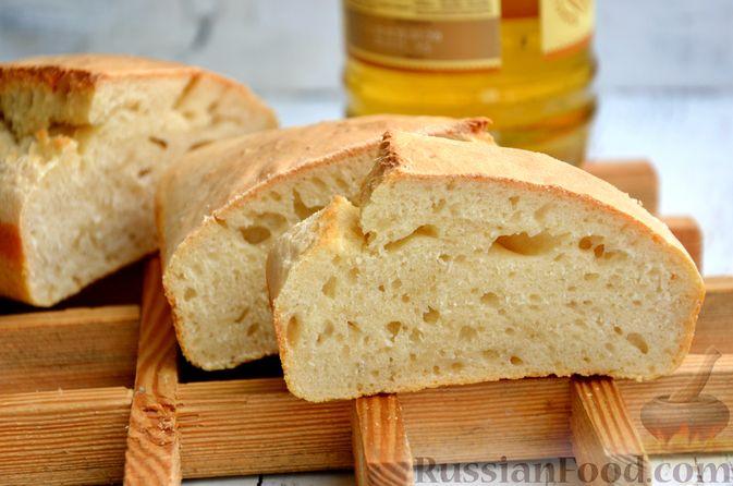 Фото приготовления рецепта: Бездрожжевой хлеб на пиве - шаг №9