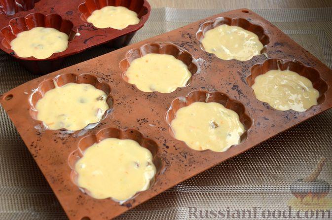 Фото приготовления рецепта: Кексы на кефире и сгущённом молоке - шаг №8
