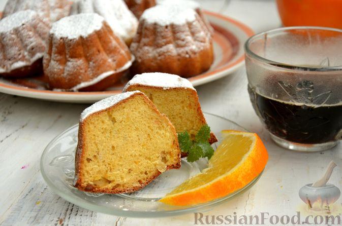 Фото приготовления рецепта: Кексы на кефире и сгущённом молоке - шаг №12