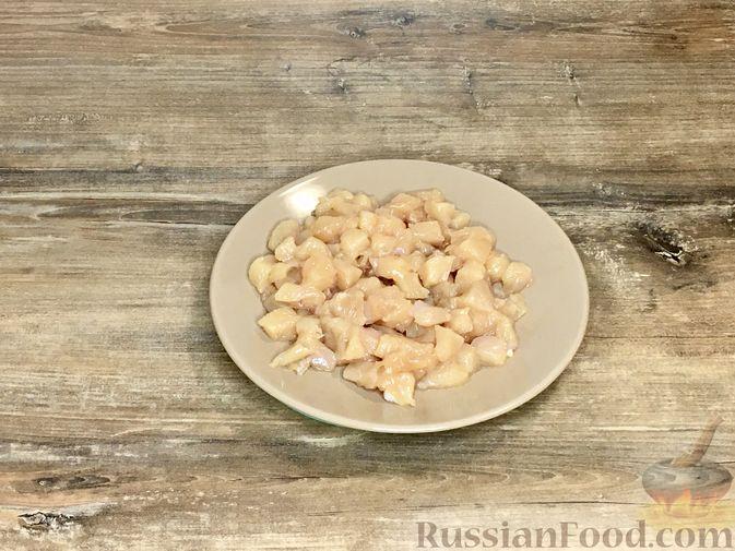 Фото приготовления рецепта: Волованы с курицей и грибами - шаг №15