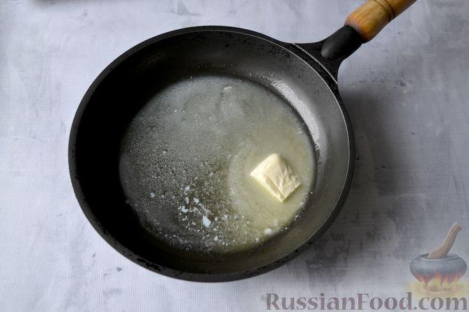 Фото приготовления рецепта: Лазанья с рыбой, помидором и сыром - шаг №4