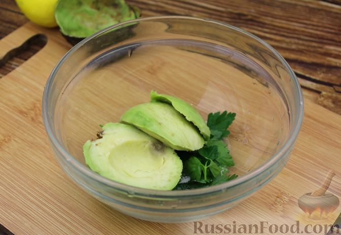 Фото приготовления рецепта: Рис с авокадо - шаг №6