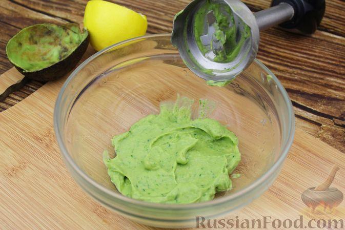 Фото приготовления рецепта: Рис с авокадо - шаг №7