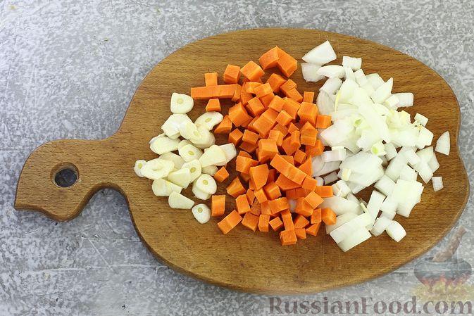 Фото приготовления рецепта: Картошка, запечённая со свининой и сметаной (в рукаве) - шаг №4