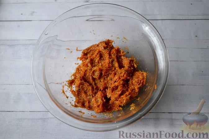 Фото приготовления рецепта: Морковные конфеты с финиками, курагой и изюмом - шаг №6
