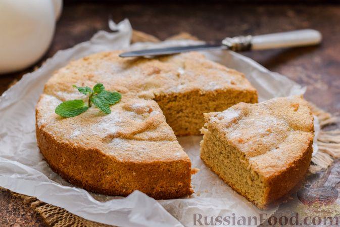 Фото приготовления рецепта: Гречневый бисквит с корицей - шаг №13