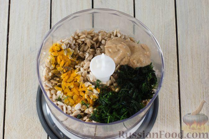 Фото приготовления рецепта: Паштет из семечек подсолнечника - шаг №3