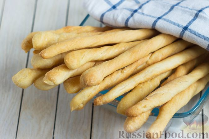 Фото к рецепту: Хлебные палочки