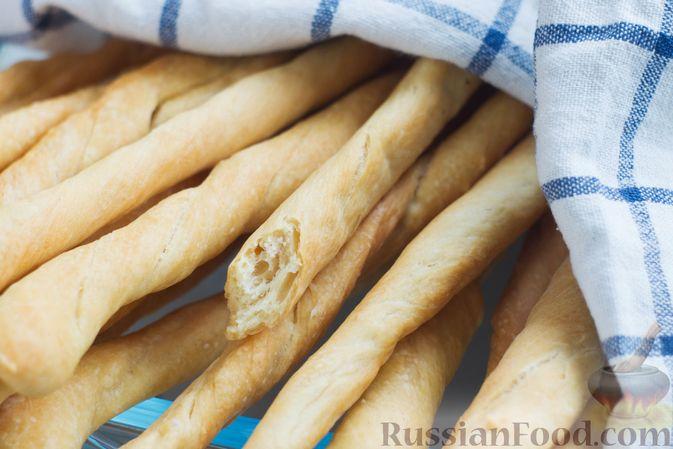 Фото приготовления рецепта: Хлебные палочки - шаг №11