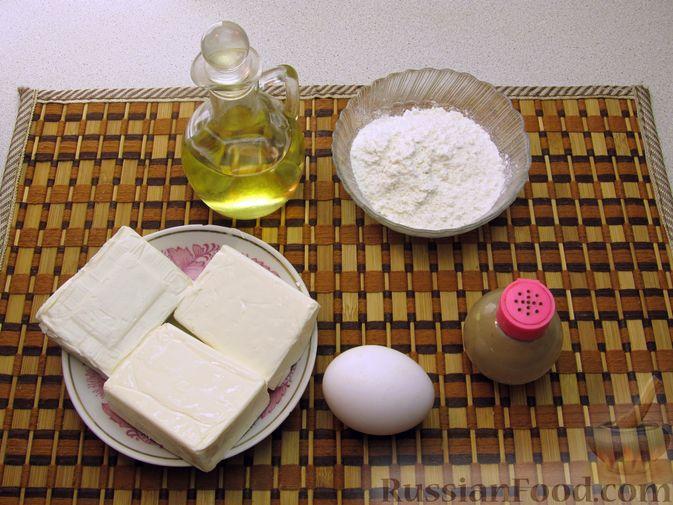 Фото приготовления рецепта: Оладьи из плавленого сыра - шаг №1