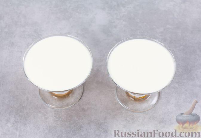 Фото приготовления рецепта: Сметанно-мандариновое желе - шаг №10