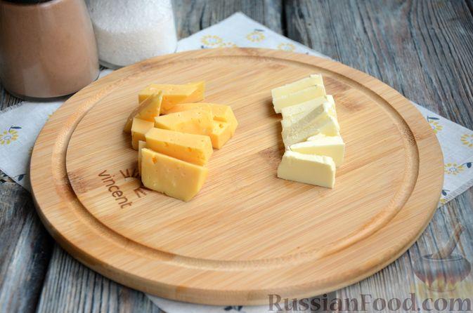 Фото приготовления рецепта: Зразы из индейки с сыром, запечённые под помидорами - шаг №5