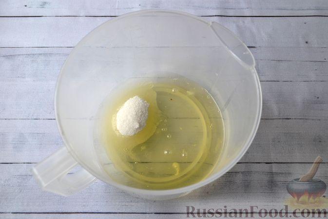 Фото приготовления рецепта: Творожно-сливочная запеканка с какао - шаг №2
