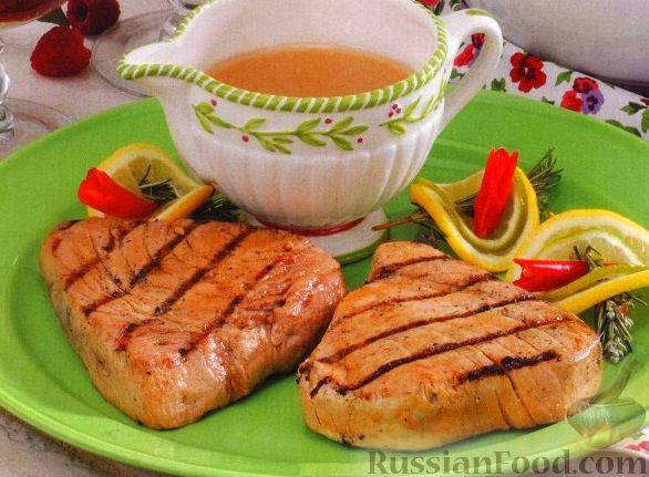 тунец на гриле рецепты приготовления с фото