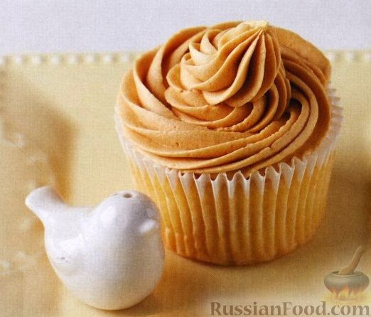 Рецепт Маффины с кофейным кремом