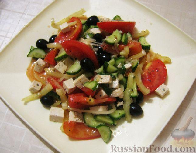 Рецепт Крестьянский салат по-гречески