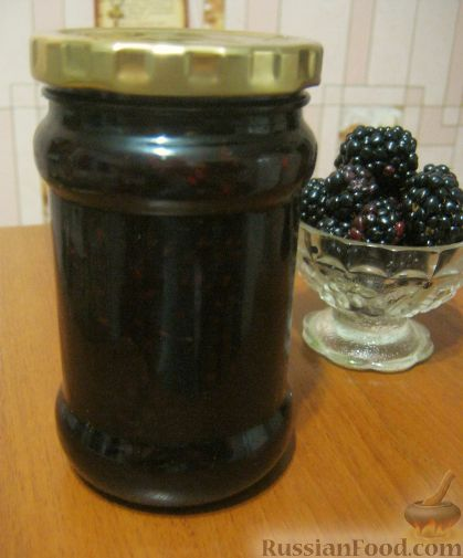 Рецепт Варенье из ежевики