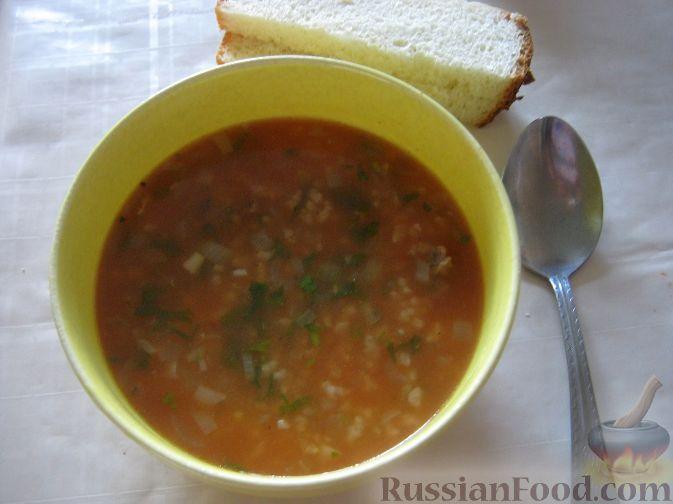 Рецепт Острый суп харчо с говядиной
