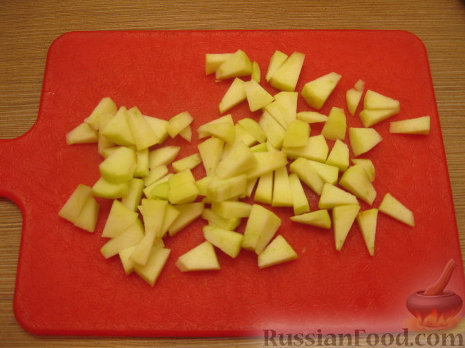 рецепт салат огурцы яблоки