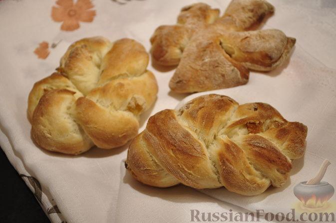 Рецепт Постные булочки с изюмом