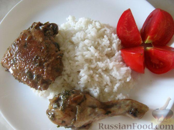 Рецепт Курица в медово-соевом маринаде