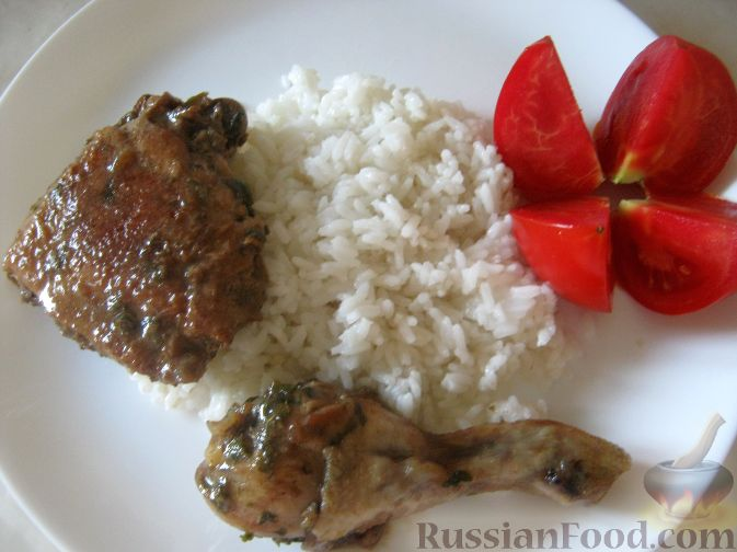 курица в соевом соусе на сковороде рецепт с фото с перцем