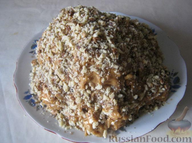 торт с безе и вареной сгущенкой рецепт