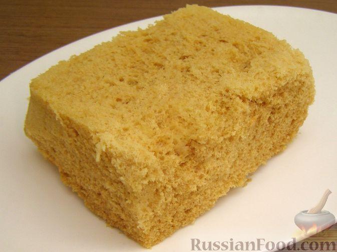 Рецепт Масляный бисквит в микроволновке