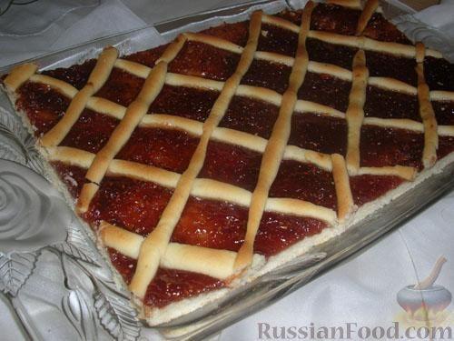 Рецепт вкусный пирог с вареньем