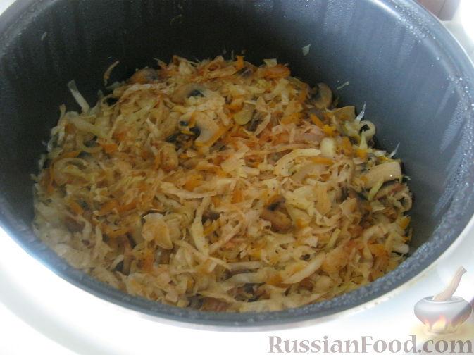Рецепт приготовления тушеной капусты в скороварке