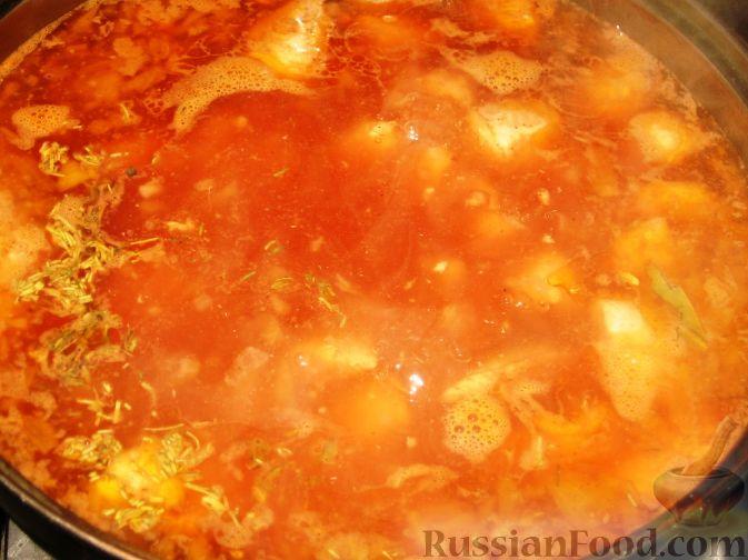 суп с гречневой лапшой и курицей рецепт