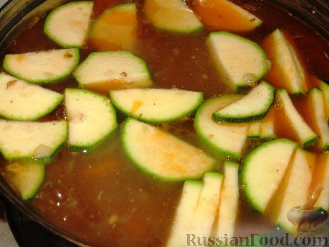 как приготовить овощной суп с курицей фото рецепт